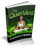 The Quiet Mind, An Introduction to Mediation MRR eBook – PDF, Kindle MOBI or ePub
